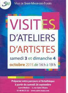 affiche visites d'ateliers 2015