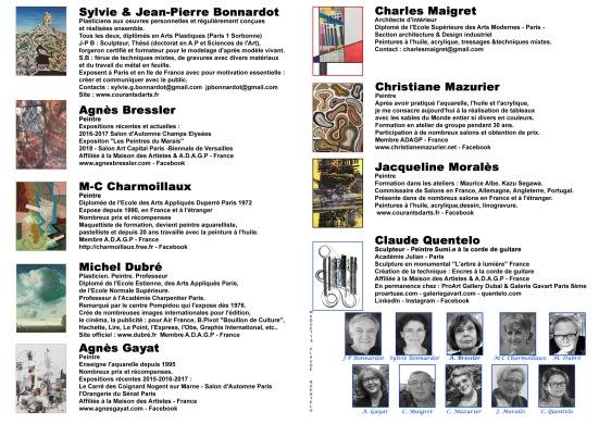 CA 10 artistes centre flyers AF DUBAI 21MAI18