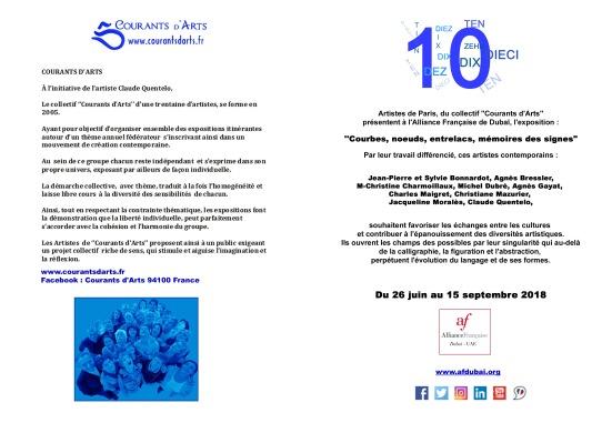 CA 10 artistes FLYERS PAGES 1 et 4 FRANCAIS 21052018
